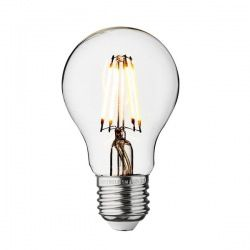 Vintage LED Edison Bulb Old Filament Lamp - 5W E27 Small Globe G95  These bulbs utilise eco-friendly, cost effective LED technology to present a fantastic alternative to traditional incandescent bulbs.  Shape: Small Globe E27 screw cap 220-240V Glass colour: Clear or Amber tinted Dimensions: 135 x 95 mm Colour temp 2700 K Compatible dimmer switch: V-PRO 1/2 way dimmer 230v-50hz 15,000 average hours, that's 5 years if used 10 hours a day!
