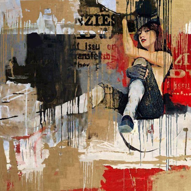 "Saatchi Art Artist Serj Fedulov; Painting, ""From the series Street Survivors 2"" #art"