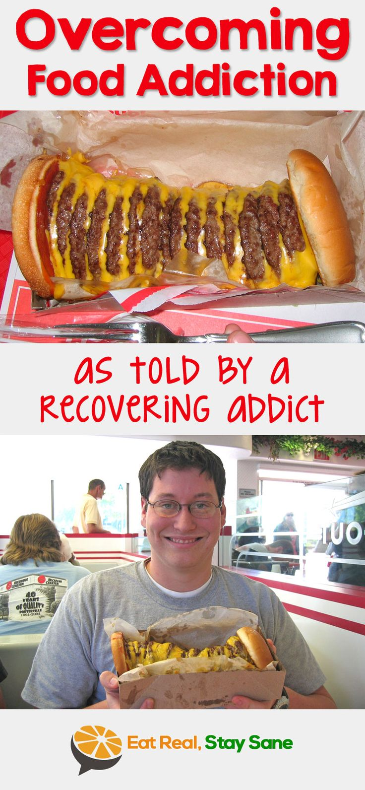 Food addiction is real and I want to share my story about overcoming this food disorder. If you don't have the willpower to eat healthy, you're not alone. I am an emotional eater, I eat until I hurt sometimes, and I'm constantly thinking about my next meal. Let me help you as I share my tips and tricks to recovery.
