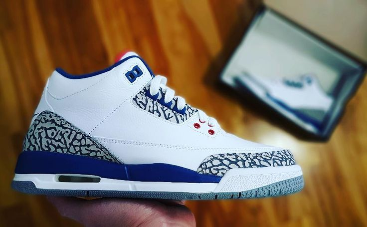 Go check out my Air Jordan 3 True Blue on feet link channel in bio.