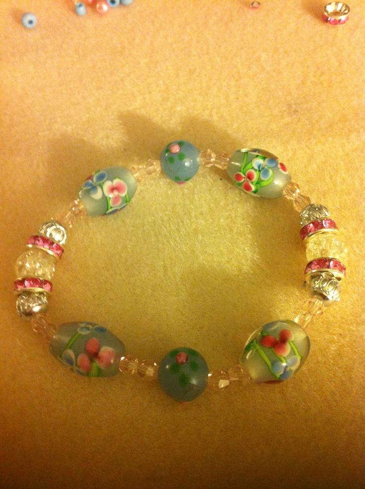 Sweet blues bracelet