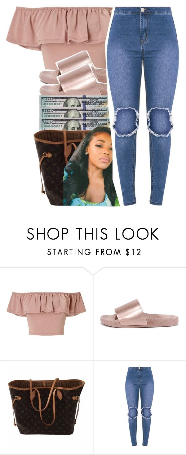 """hump daaaaay "" by glowithbria ❤ liked on Polyvore featuring Miss Selfridge, Bamboo and Louis Vuitton"