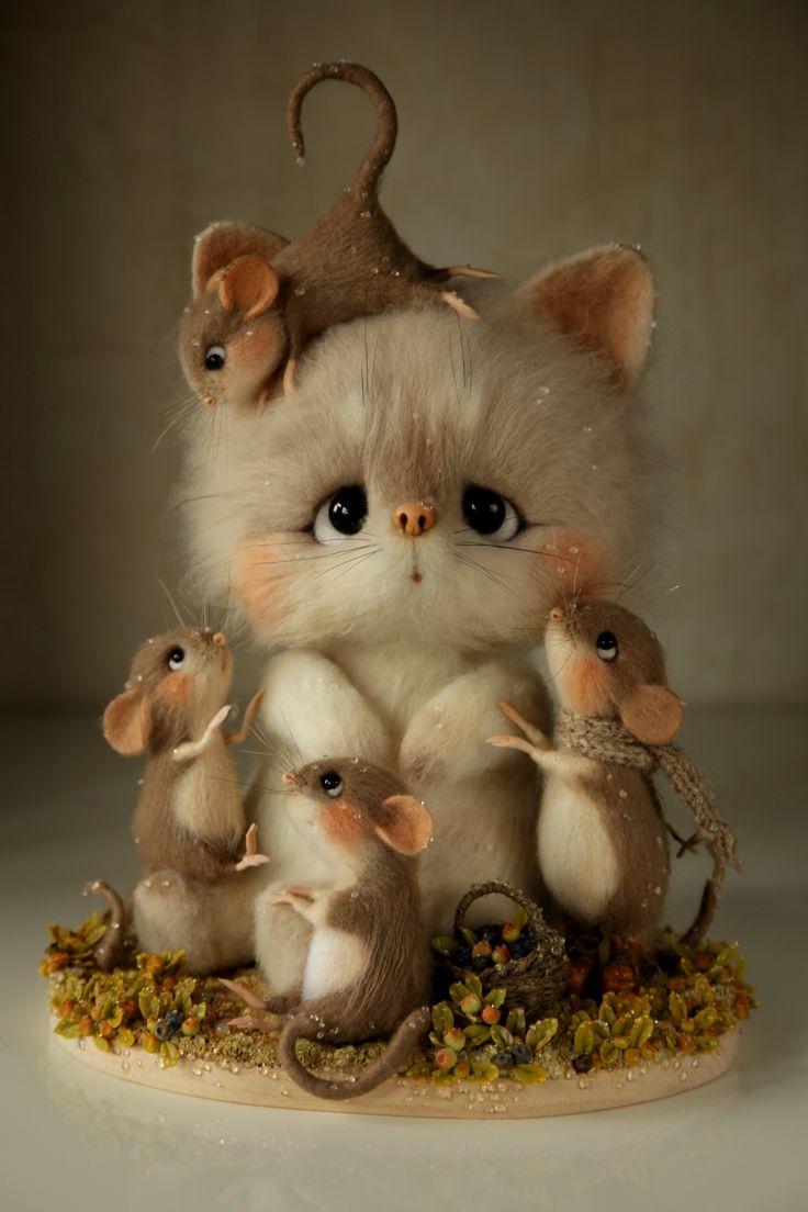 Adorable, mice are so cute!