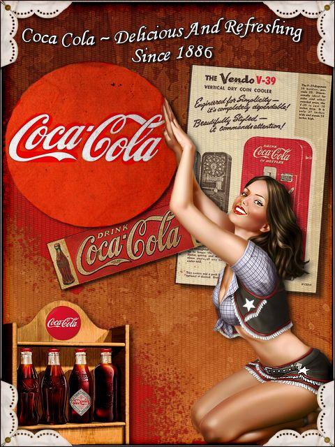 Coca Cola Pictures Vintage | Vintage Coca Cola