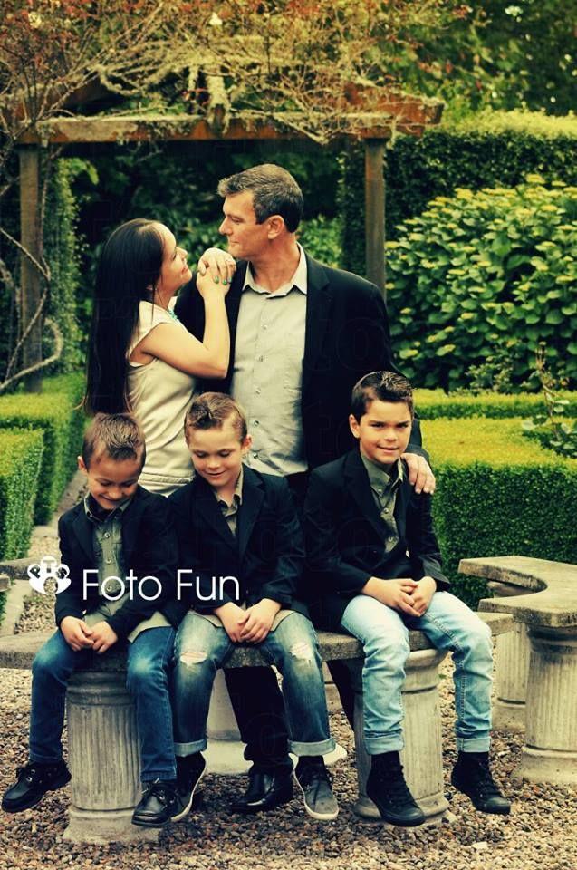 The beautiful Senior-Garcia Family