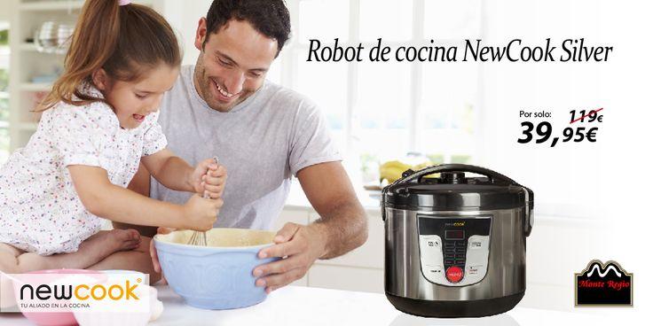 Estrenamos WEB con una oferta muy especial: ¡Reserva YA tu robot de cocina NewCook Silver por solo 39,95 € y consigue GRATIS una entrada de cine! #MonteRegio