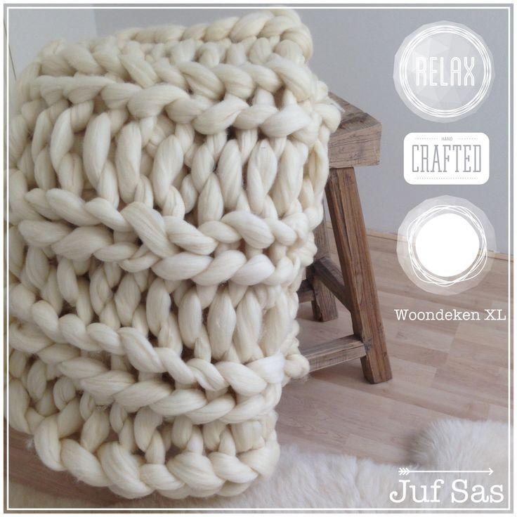 Vlog 9 #Woondeken XL van #lontwol gebreid zonder breinaalden #handmade #juf Sas #vlog #vloggen #uitleg #handbreien #handknitting #armknitting #armbreien #breienzonderbreinaalden #knitwithoutneedles #film #blog #roomwit #interieur #plaid #breien #wol #DIY #DoItYourself #breiwerk #easy #makkelijk #interieur #scandinavischwonen #wonen #knitwear #grof #XXL #deken #relax #knitting #iloveknitting #tutorial #withoutneedles #zonderbreinaalden #stoer #grof