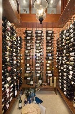 Walk In Wine Cellar In Gables Estates, Coral Gables