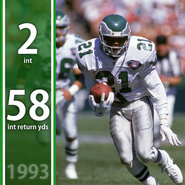 December 26 1993 Eric Allen picks off Steve Walsh twice in a 37-26 win against the Saints! Eagles QB Bubby Brister threw 3 touchdown passes. . . . . #flyeaglesfly #eagles #philadelphia #philly #philadelphiaeagles #nowplaying #phila #iggles #instagood #nfceastchamps #nfl #nflmemes
