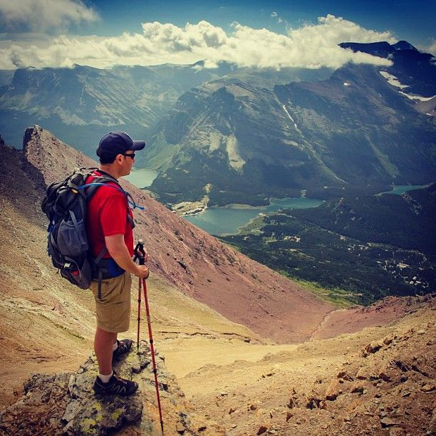 "Because reality doesn't fit on a 60"" screen. #peakbagging #MountHenkel #glaciernationalpark #hiking #realitytvsucks #getoutside"