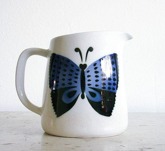 Vintage Kaj Franck Butterfly Pitcher
