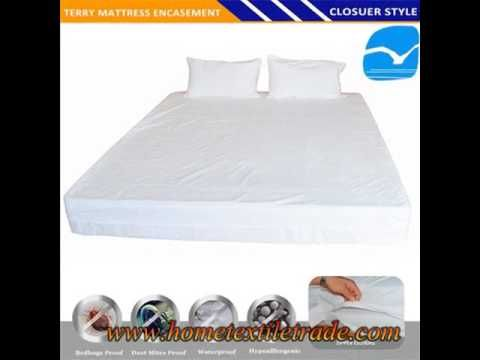 Cot Bed Mattress Protector Fully Ed Waterproof Towelling Sheet Baby