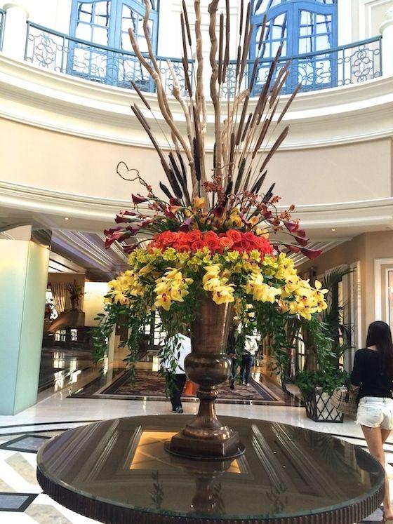 Bellagio Lobby, Las Vegas - Beautiful Florals | OMG Lifestyle Blog