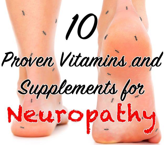Vitamins and Supplements for Neuropathy include Alpha Lipoic Acid, N-acetyl cysteine, Resveratol, Curcumin, Magnesium, Vitamin C/E/D and B-complex vitamins.