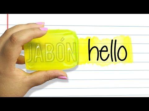 HAZ UN MARCATEXTOS DE JABON! - YouTube
