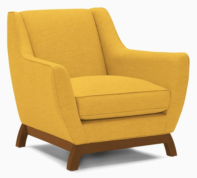 Owen Chair In 2020 Chair Yellow Accent Chairs Living Room