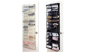 Groupon - Over-de-deur-schoenenrek voor 26 paar in kleur naar keuze voor € 12,98 (55% korting). Groupon deal price: €25,99