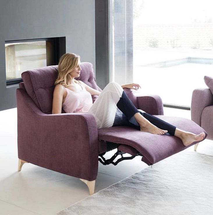 Modern Touch Stylish Recliners Furniture Modern Recliner