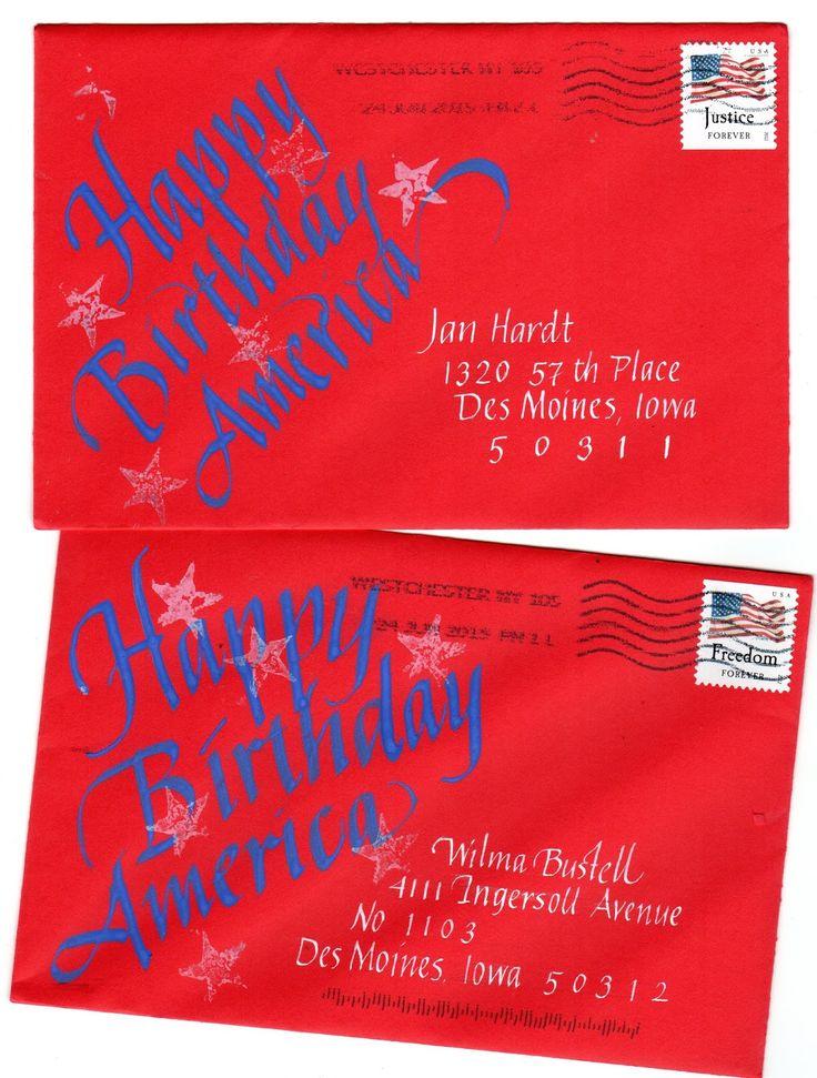 826 Best Images About Art Lettering Envelopes On