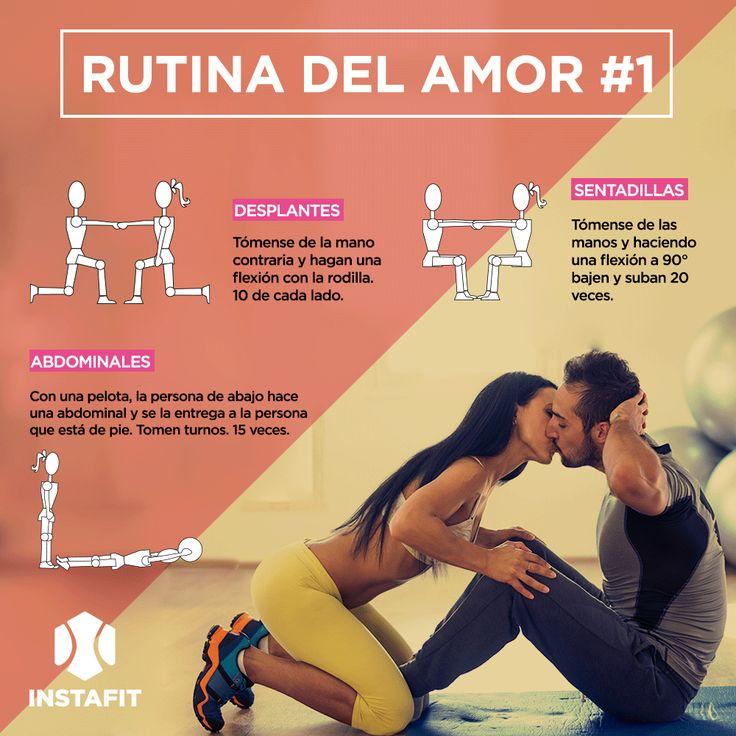 Rutina de ejercicio para hacer en pareja parte 1