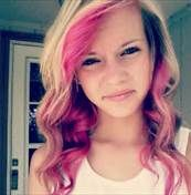Blonde Hair With Pink Highlights - Bing Images