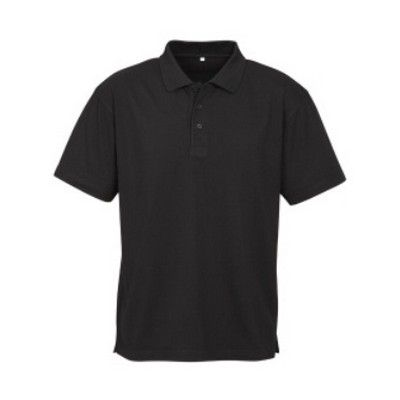 Mens Basics Polo Min 25 - A polo with loose pocket and a fabric made from 65/35 poly cotton pique knit. #CheapPoloShirts #PoloShirts #PromotionalProducts #PromotionalPoloShirts #MensBasicPolo