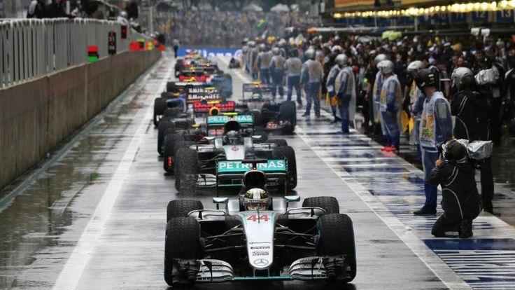 Großer Preis von Brasilien   Hamilton siegt im Regen-Chaos - Formel 1 - Bild.de