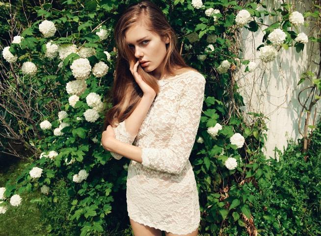 Lace Dress by Rosemunde