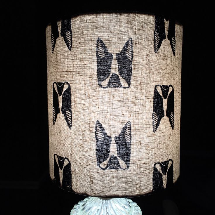 37 best handmade lamp shades made by weatherkim images on pinterest boston terrier lampshade you need this mozeypictures Choice Image
