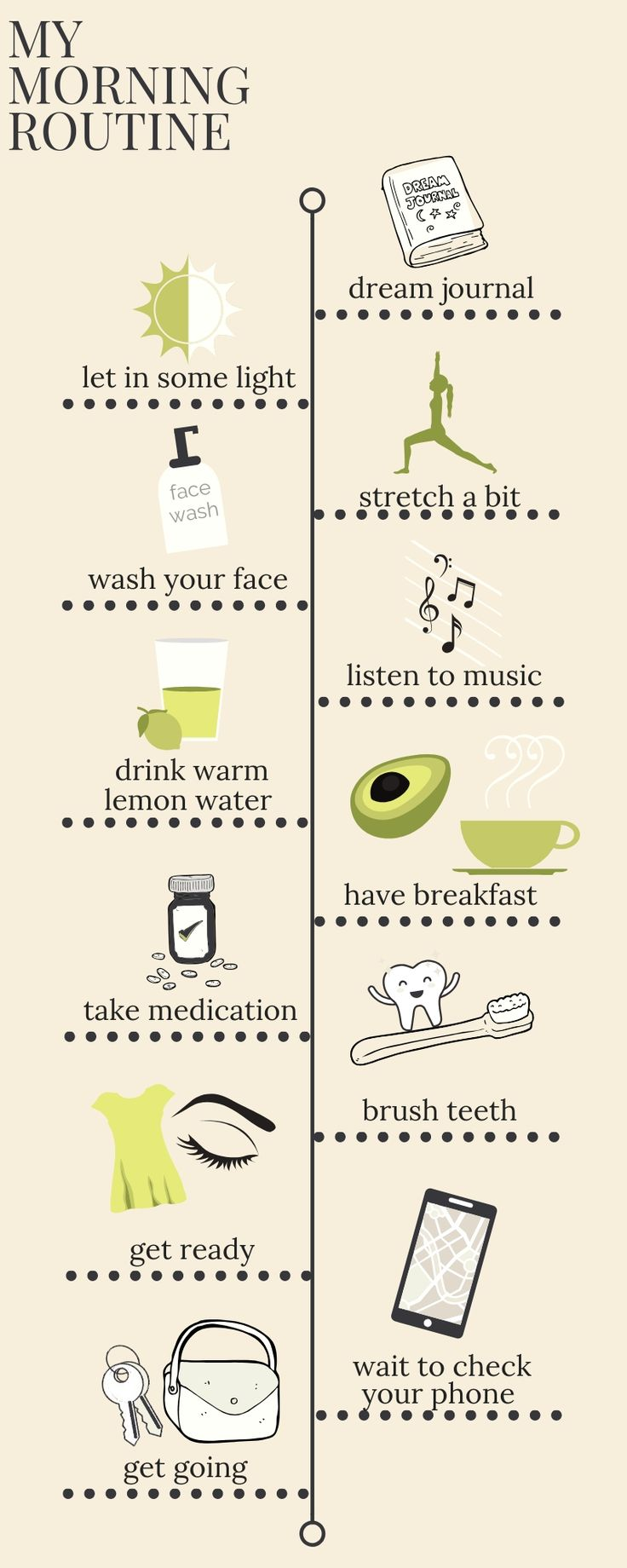Healthy and Happy Morning Routine