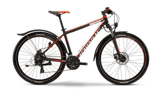 #Bicicleta #MTB #Hardtail #Haibike Edition 7.25 #Street  Edition 7.60 este un model fiabil și gata de acțiune. Cu un #cadru rezistent fabricat din aluminiu 7005, Haibike propune un model fiabil cu #schimbatoare #Shimano Deore și Shimiano SLX. Senzația pe coborâri este mai plăcută prin #amortizarea pe aer/ulei a furcii #Suntour #Raidon. MTB recomandat pentru ture la munte, deal sau campie!