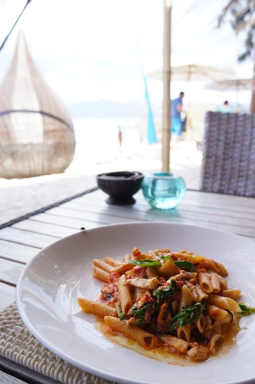 Fine dining: The limited resource in Gili Meno didn't stop The Reef from serving you the best gourmet available in the i...