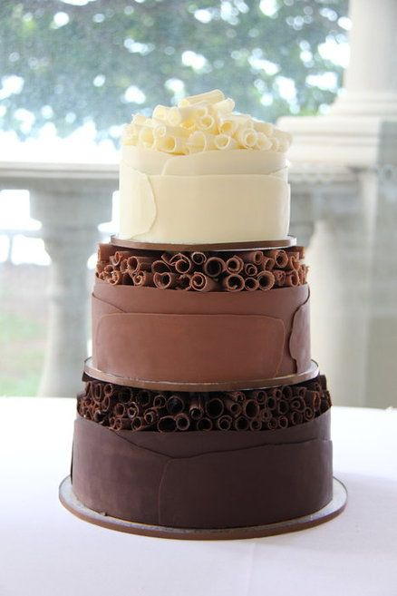 Chocolate Curl Cake....Oh goodness does this look amazingly yummy