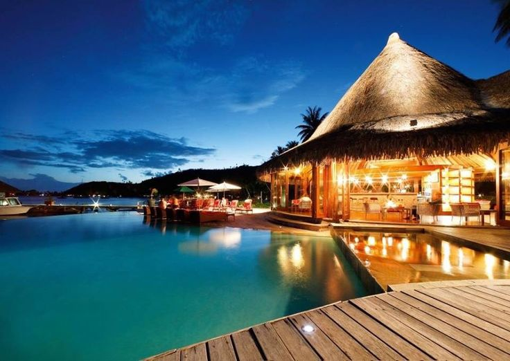 Definitely One Of My Destinations Sofitel Bora Marara Beach Resort Tahiti Luxury Hotel Vacation From Clic Vacations