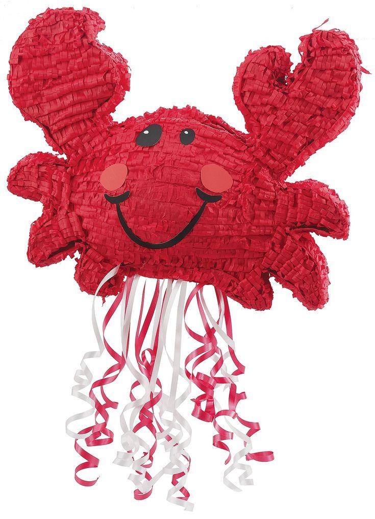 Dawsons first birthday?! So cute! Love the nautical and crab theme!