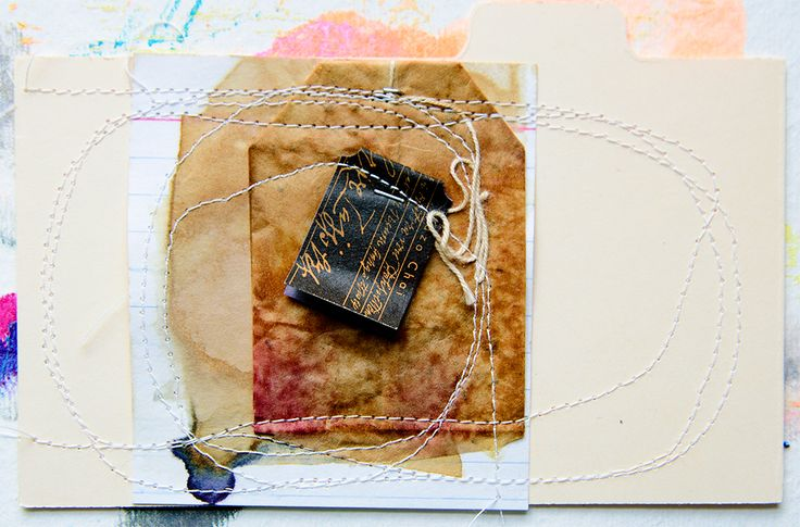 collage on index card by tammy garcia