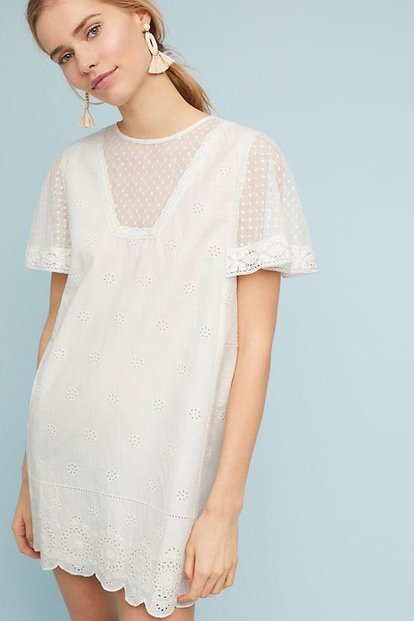 1ab2a652446e Slide View  4  Corey Lynn Calter Lace Swing Dress Anthropologie White  Dress