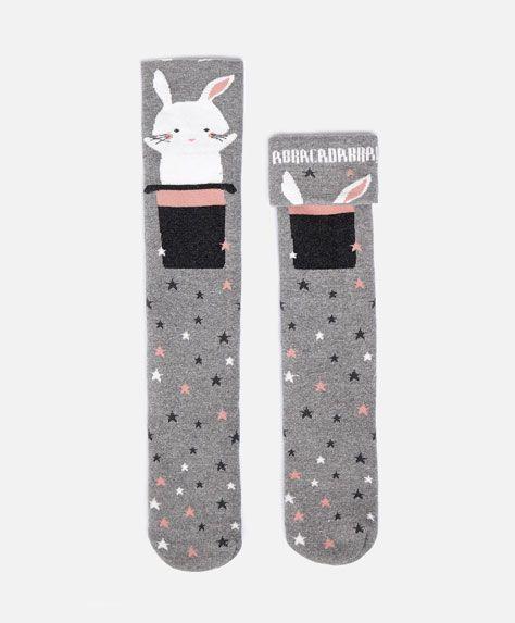 Long penguin socks - OYSHO