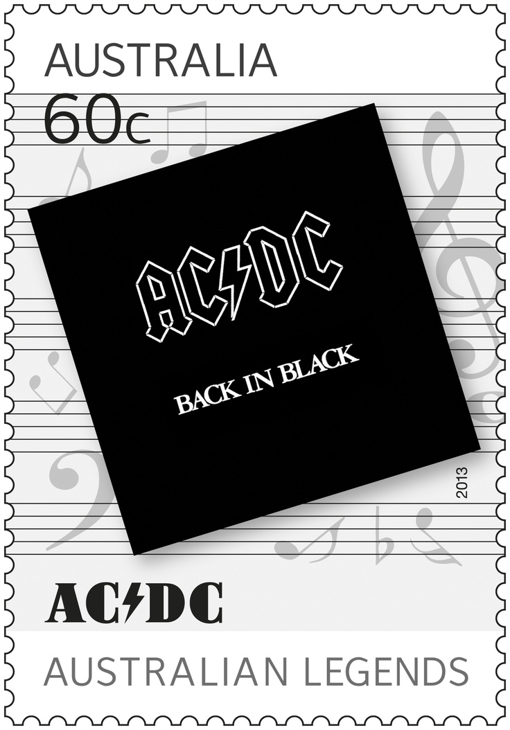 #acdc we salute you! #legends #stamps