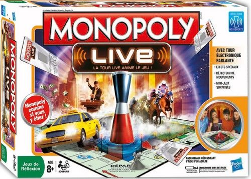 Boite du Monopoly Live