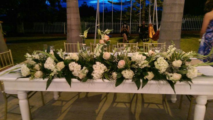 Main table wedding table...