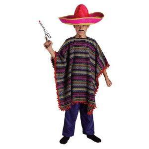 Μεξικάνος στολή αγοριών Πόντσο