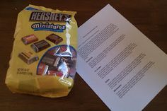 This is a fun activity for kid and adult groups. The Chocolate Personality Test - this is uncanny, I picked Special Dark (my fave), and the description is so me!!! GREAT ice breaker for first time group, etc