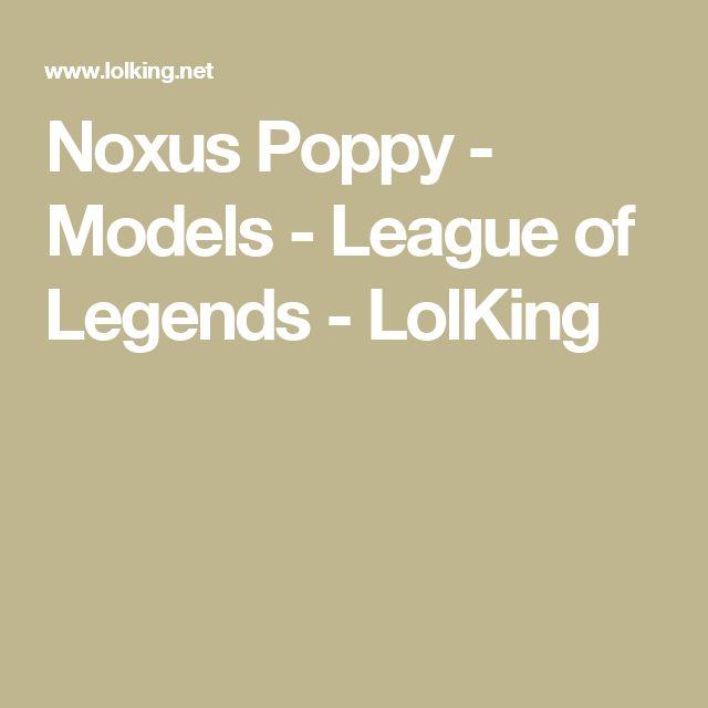 Noxus Poppy - Models - League of Legends - LolKing