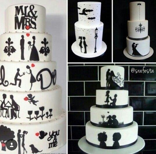 Idéia diferente para o bolo