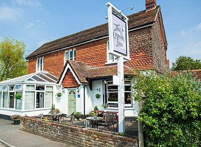 The Crown Inn Dial Post Near Horsham West Sussex - a characterful real food and fine dining pub on Dial Post Green in West Sussex offering excellent company, good pub food, wines and ales as well as Bed and breakfast
