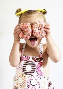 61a8851d4eaa Baby Donut Romper. Handmade Bubble Romper from Hello Ellie.  helloellieshop.com