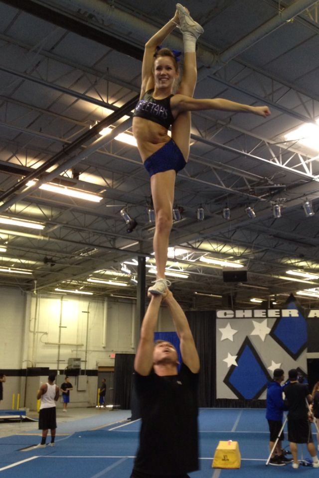 136 best Stunts images on Pinterest | Cheer stunts ...