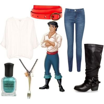 Disney Prince Eric | How To Dress Like The Little Mermaid Disney Characters | Gurl.com