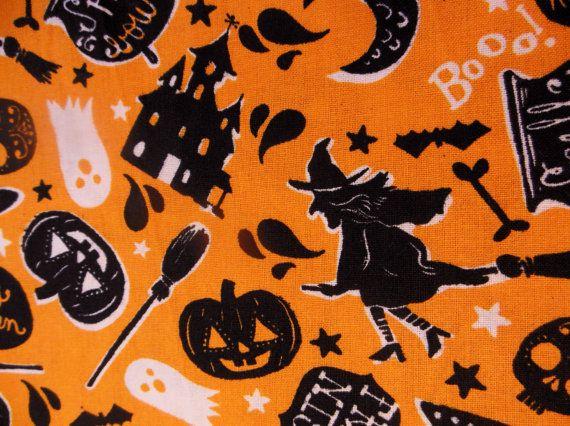 RETRO HALLOWEEN  Witches  Black Cats  Pumpkins  by MyBabiesAndMe